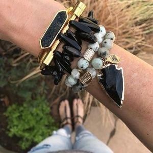 Kinsley Armelle Jewelry - Kinsley Armelle Gold Bar Bracelet
